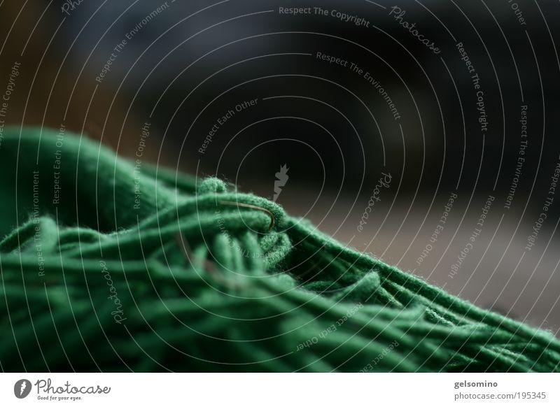 Ins Detail gehen grün Fröhlichkeit Stoff Schal Souvenir