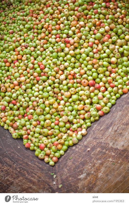Apfelmus Lebensmittel Frucht Industrie Handel Container rund Farbfoto Außenaufnahme Menschenleer Tag