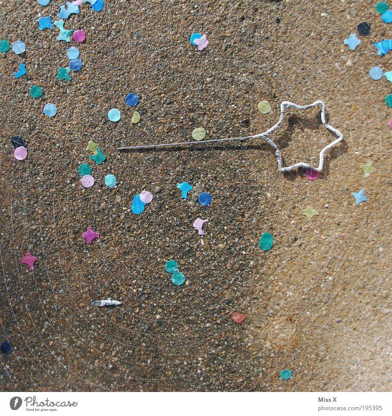 JingleTs letzte Wunderkerze wunderkerze party ende konfetti feiern sternförmig