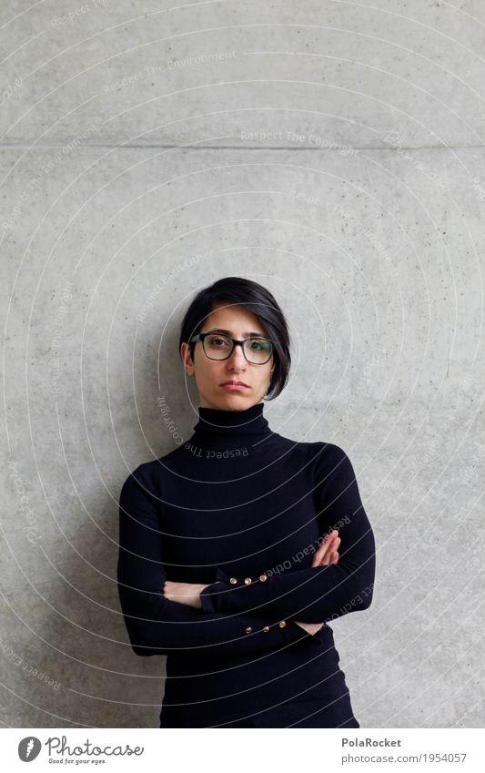 #A# plein d'assurance Mensch Frau ruhig Architektur Mode Studium Beruf Student Model Karriere selbstbewußt Berufsausbildung Pullover Frauengesicht kompetent