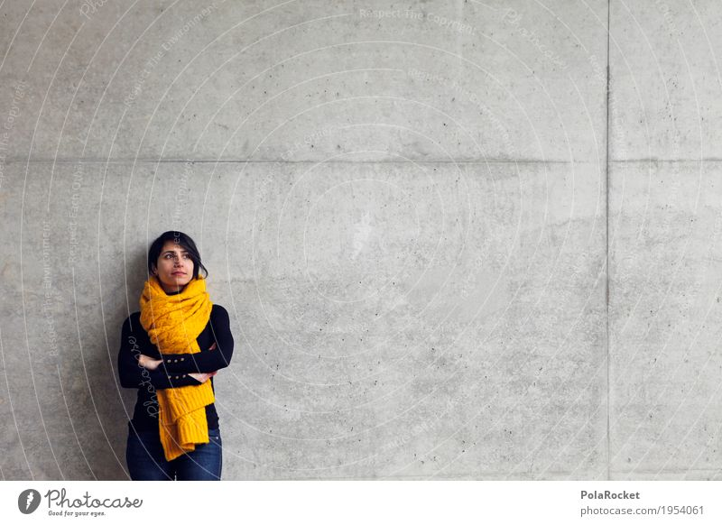 #A# Zukunft Mensch Frau Architektur feminin Mode Textfreiraum Kraft Kreativität Perspektive Studium Wunsch Konzentration Inspiration Karriere Langeweile