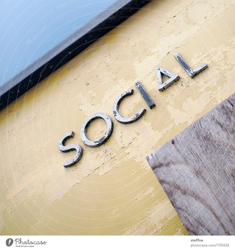 SOCIAL Kommunizieren sozial social social media social network Sozialismus Asozialer Gesellschaft (Soziologie) Verbundenheit Farbfoto Außenaufnahme Muster