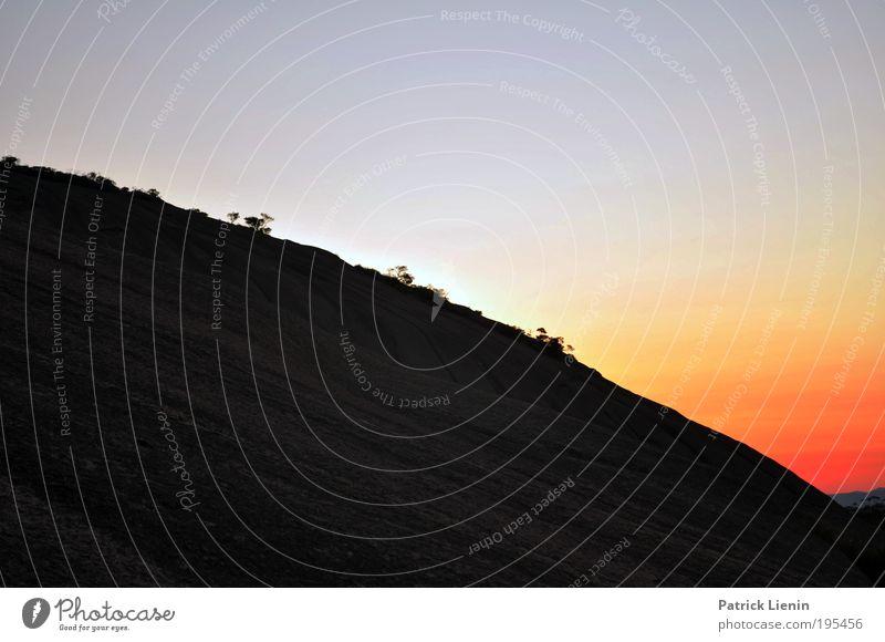 bald rock Umwelt Natur Landschaft Pflanze Luft Erde Himmel Baum rund Urwald Strukturen & Formen Abenddämmerung ruhig Zufriedenheit Berge u. Gebirge Wald