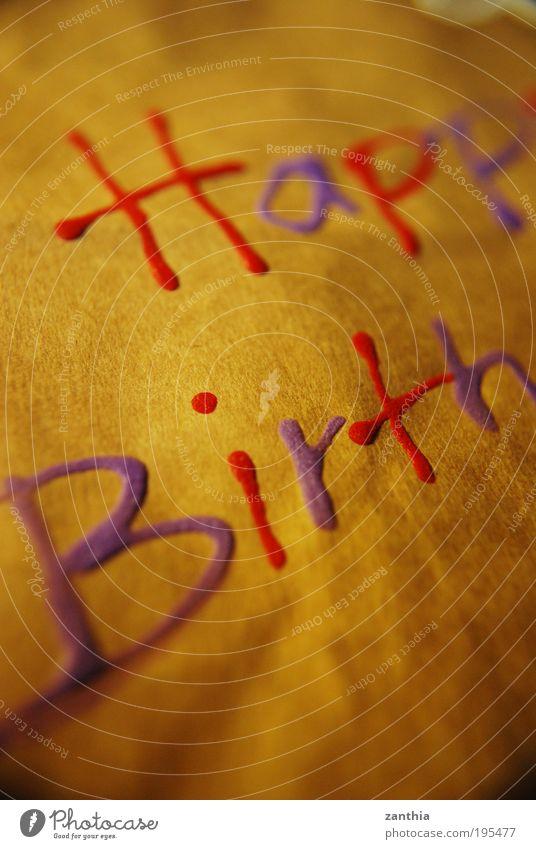 Happy Birthday alt rot Freude Wärme lustig Glück Feste & Feiern braun Stimmung Freundschaft frisch gold Geburtstag Fröhlichkeit einzigartig Freundlichkeit