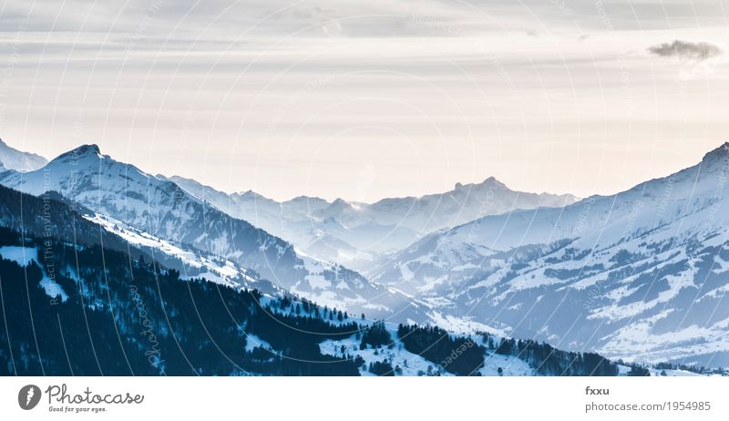 Aussicht vom Beatenberg Natur Landschaft Winter Berge u. Gebirge Hintergrundbild Felsen wandern Alpen Schweiz Berner Oberland