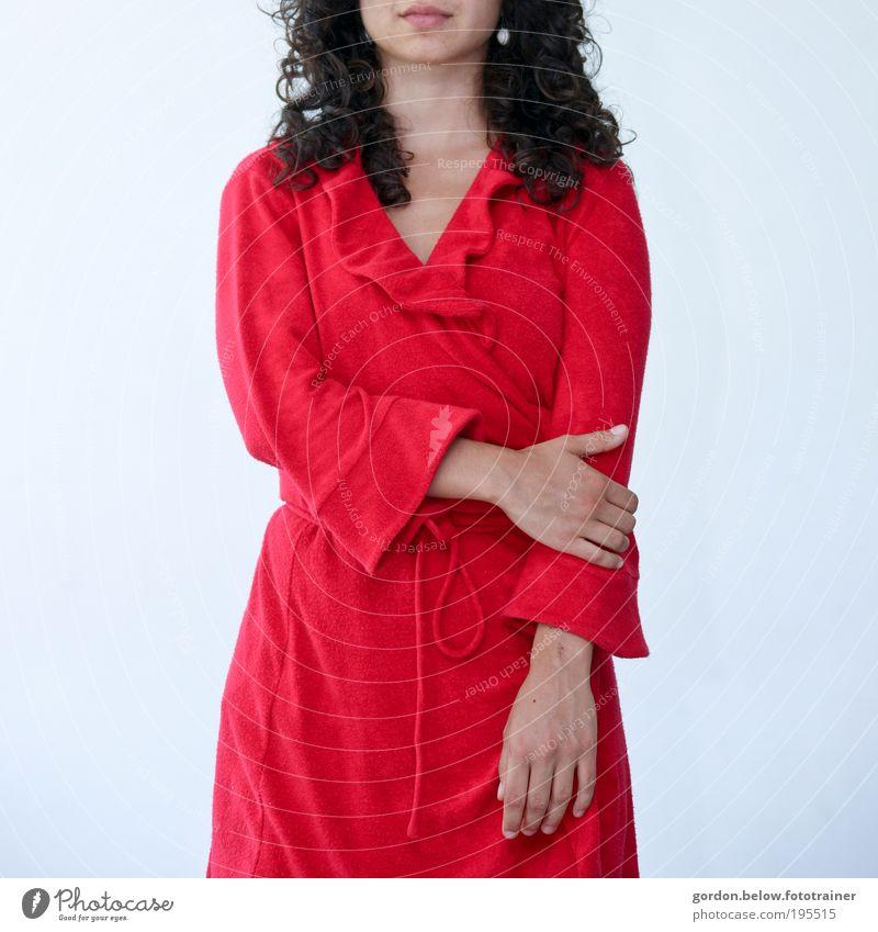 Frau in Rot Mensch rot feminin Mode