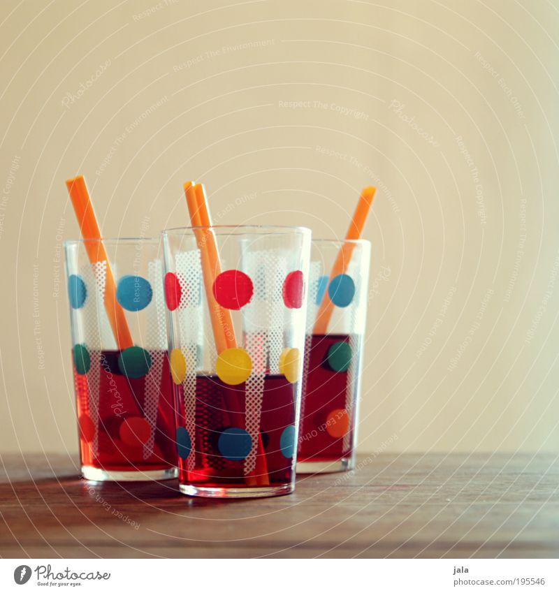 Limonade Holz Stil Party Feste & Feiern Glas Tisch süß Getränk Lifestyle retro gut trinken lecker Röhren Erfrischung Saft