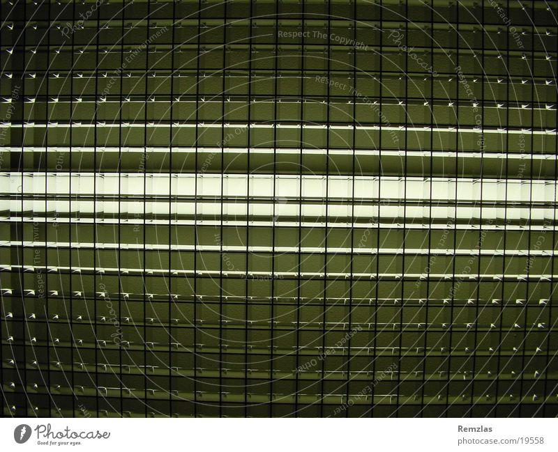 Oberlicht Lampe Licht Raster Verlauf Elektrisches Gerät Technik & Technologie Strukturen & Formen Metall