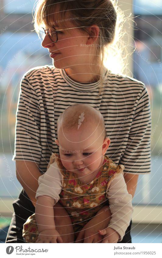Allerliebst Mensch Frau Jugendliche blau schön ruhig 18-30 Jahre Erwachsene Leben feminin Familie & Verwandtschaft Zusammensein Zufriedenheit blond Kindheit