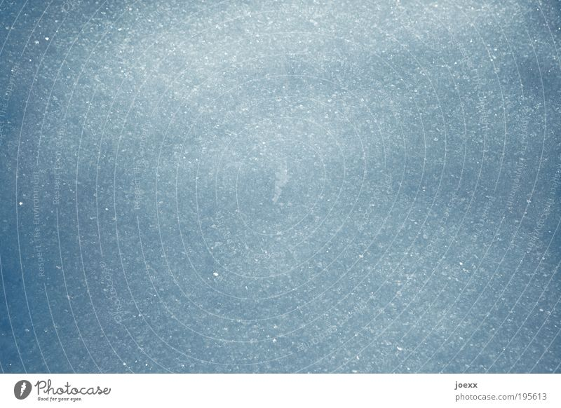 Das Glitzern im Schnee blau Winter kalt Schnee Strukturen & Formen Neuschnee