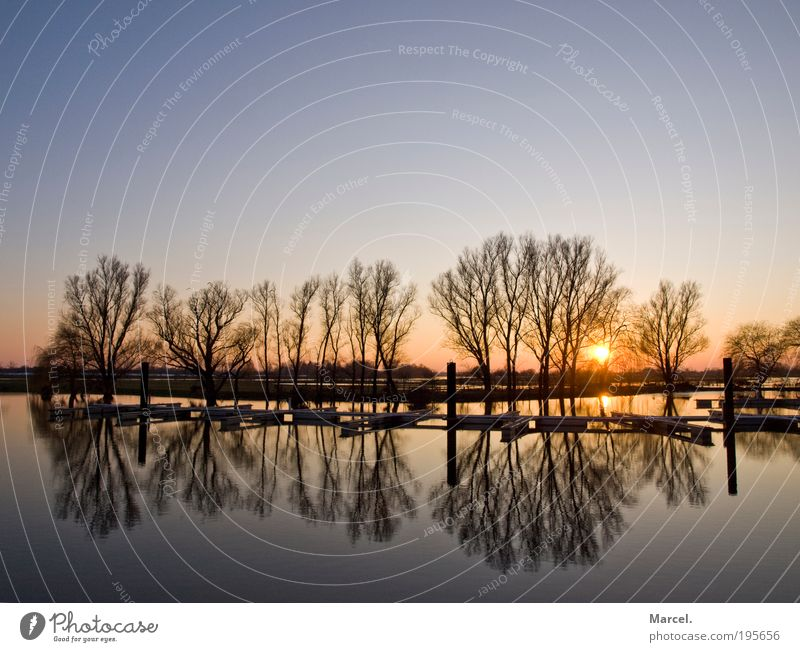 Beautiful Moments Natur Wasser Himmel Horizont Sonne Sonnenaufgang Sonnenuntergang Sonnenlicht Schönes Wetter beobachten Erholung genießen frei Unendlichkeit