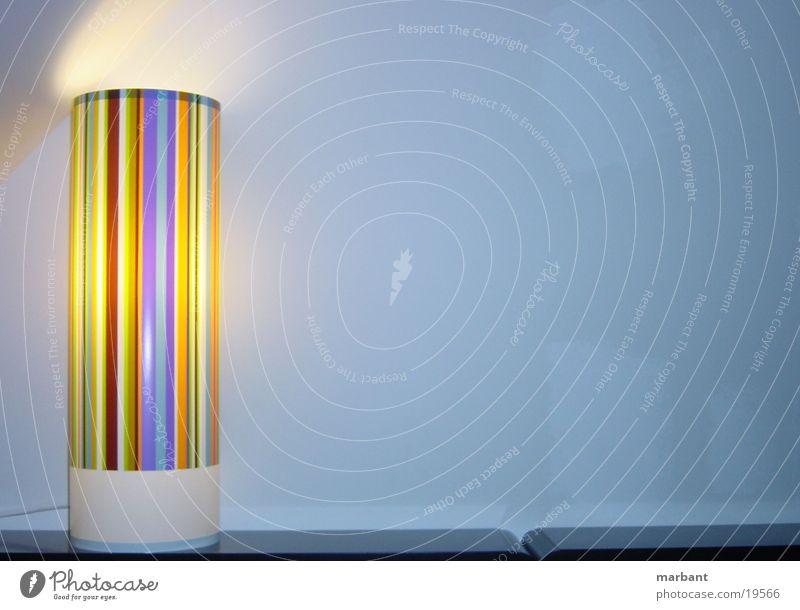 lamp Lampe Streifen Möbel Stil Häusliches Leben