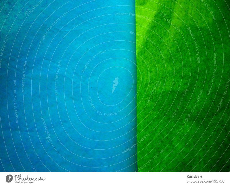 greensleeves. Himmel Natur blau grün Stil Linie Kunst abstrakt Freizeit & Hobby Kraft Design Papier Studium Lifestyle Häusliches Leben Streifen