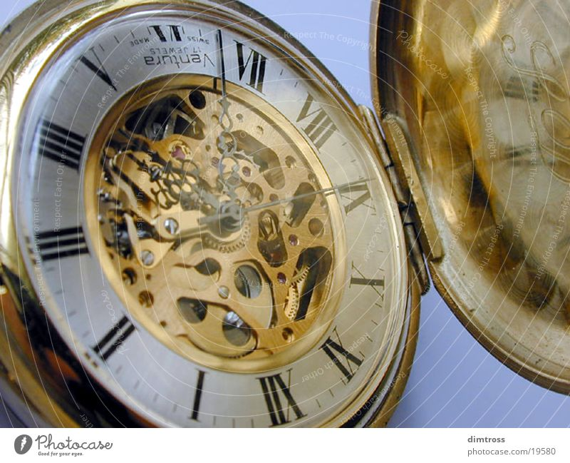 Uhr Handwerk antik Handarbeit Taschenuhr