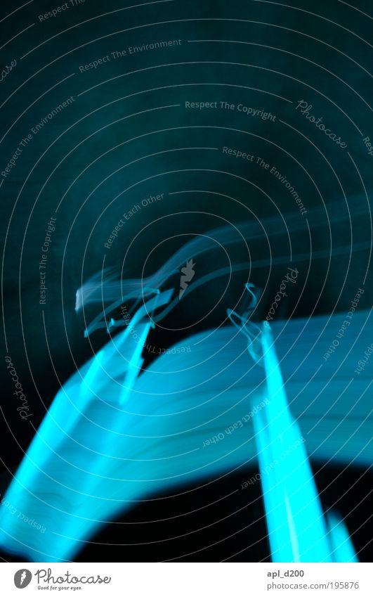 Star Wars blau grün Freude schwarz dunkel Gebäude Kunst Energiewirtschaft ästhetisch verrückt Technik & Technologie Sehenswürdigkeit Langzeitbelichtung Experiment High-Tech Kultur