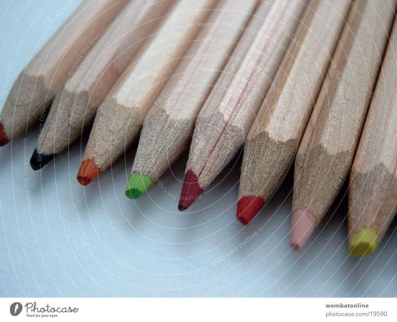 Spuren von Rot rot Farbe Spitze streichen Schreibstift