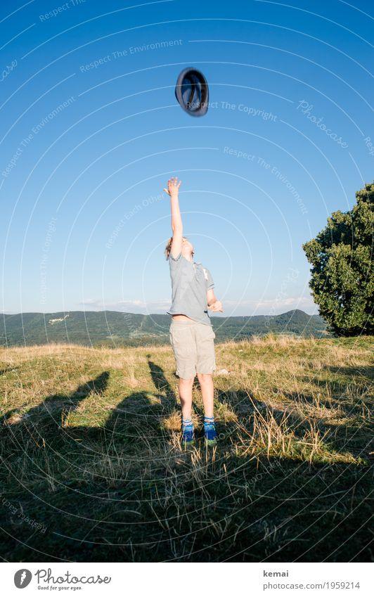 Hut ab! Leben Wohlgefühl Freizeit & Hobby Spielen Ausflug Abenteuer Freiheit Sommer Feste & Feiern Mensch maskulin Junge 1 8-13 Jahre Kind Kindheit Umwelt