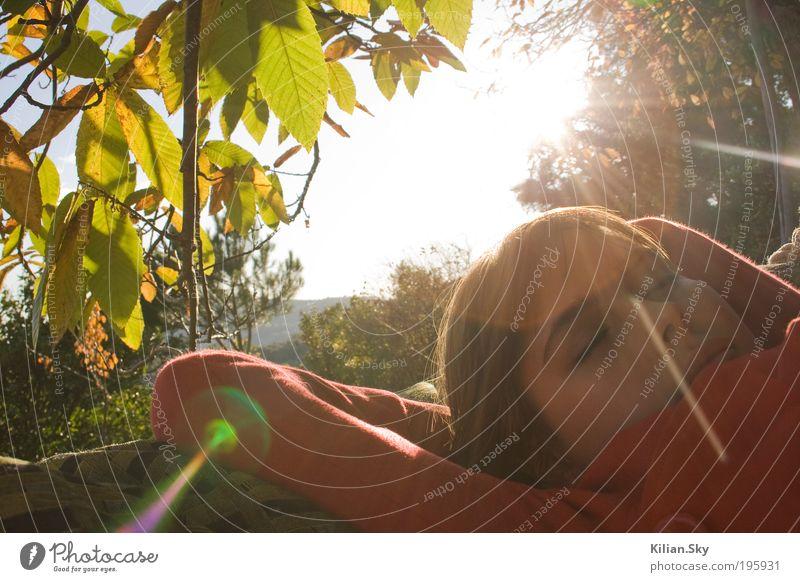 Spanischer Herbst - dreaming away.. Natur Ferien & Urlaub & Reisen Jugendliche Pflanze schön Sommer Junge Frau Erholung ruhig Herbst feminin Frühling Glück Gesundheit Garten Kopf