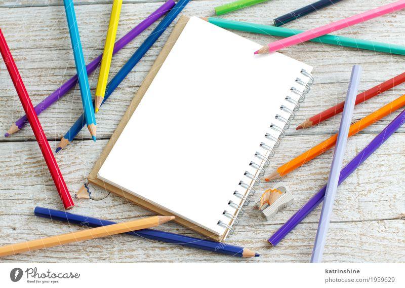Ziehkissen und Farbstifte blau Farbe grün weiß rot gelb Schule Design rosa hell Freizeit & Hobby Kreativität Mitteilung purpur Anspitzer schreibend