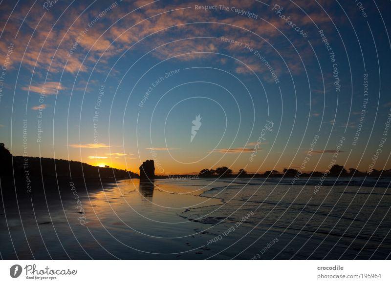 Sumner Beach I Umwelt Natur Landschaft Urelemente Sand Luft Wasser Himmel Wolken Sonne Sonnenaufgang Sonnenuntergang Küste Strand Bucht Meer Pazifik
