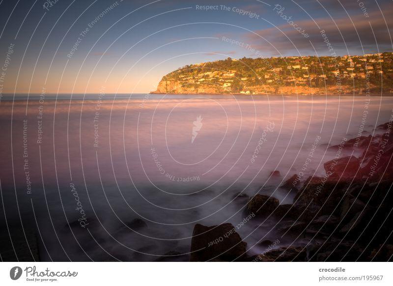 Sumner Beach VI Umwelt Natur Wasser Himmel Wolken Sonnenaufgang Sonnenuntergang Sonnenlicht Schönes Wetter Wellen Küste Meer Dorf Fischerdorf Stadt Hafenstadt