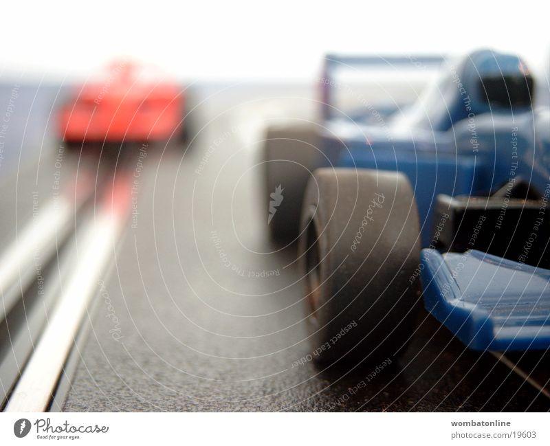 Es geht wieder los PKW Verkehr Rennsport Rennbahn Spielzeug Autorennen Rennwagen Formel 1 Carrerabahn