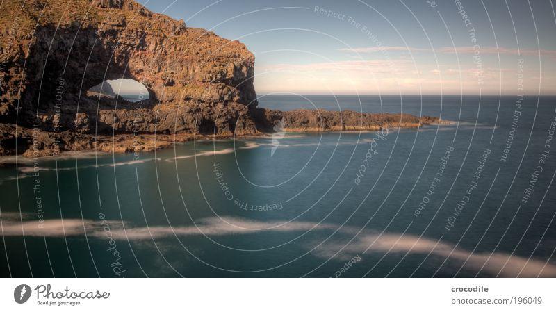 New Zealand XVII Umwelt Natur Landschaft Urelemente Sand Wasser Himmel Wolken Horizont Wetter Schönes Wetter Wind Pflanze Gras Felsen Wellen Küste Bucht Meer
