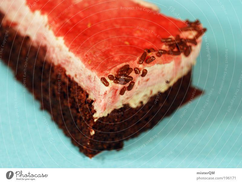 Süße Sünde. Foodfotografie Kunst ästhetisch Ernährung genießen süß lecker Appetit & Hunger Kuchen Backwaren Schokolade Geschmackssinn Zucker Torte ungesund