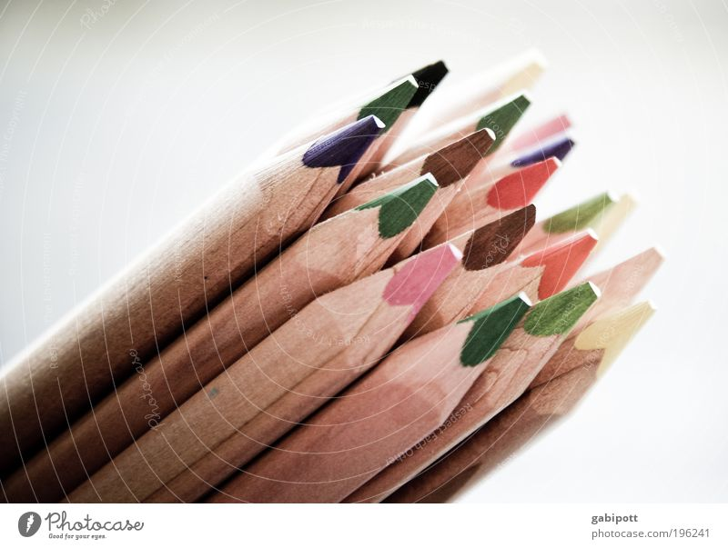 treibts nicht zu bunt! ... Farbe Farbstoff trist malen Kreativität zeichnen Kindergarten Bildung Kindererziehung Künstler Maler Optimismus Farblosigkeit