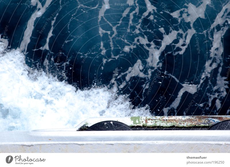 Backbord Ferien & Urlaub & Reisen Ausflug Ferne Kreuzfahrt Sommer Meer Wellen Wasser Sturm Nordsee Ostsee Schifffahrt Bootsfahrt Passagierschiff
