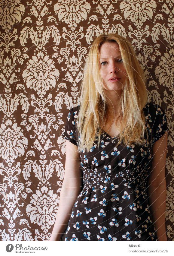 it´s so easy Mensch Jugendliche schön Erwachsene Gesicht feminin Haare & Frisuren blond Haut Design Häusliches Leben 18-30 Jahre Reichtum Tapete Frau