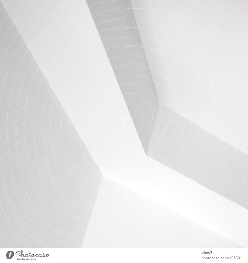 w2 Wohnung Innenarchitektur Raum Mauer Wand Fassade Stein Zeichen Linie dünn authentisch eckig elegant hell modern oben schön weiß ästhetisch Design Ordnung