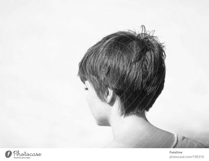 Fränzi Frau Mensch Jugendliche schön weiß Gesicht schwarz Leben feminin Haare & Frisuren Kopf Wärme hell Haut Erwachsene
