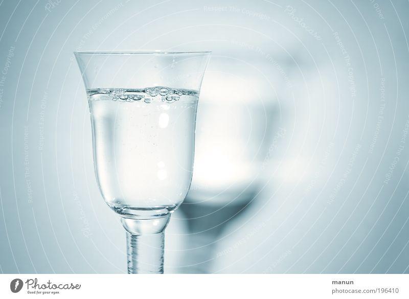trink Wasser kalt Leben Gesundheit Glas Lebensmittel Trinkwasser frisch Ernährung Getränk gut Sauberkeit trinken rein genießen Übergewicht