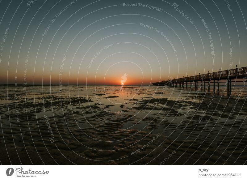 Another sunrise Wolkenloser Himmel Schönes Wetter Wärme Küste Strand Riff Korallenriff Meer Wüste Ebbe beobachten Erholung genießen Ferien & Urlaub & Reisen