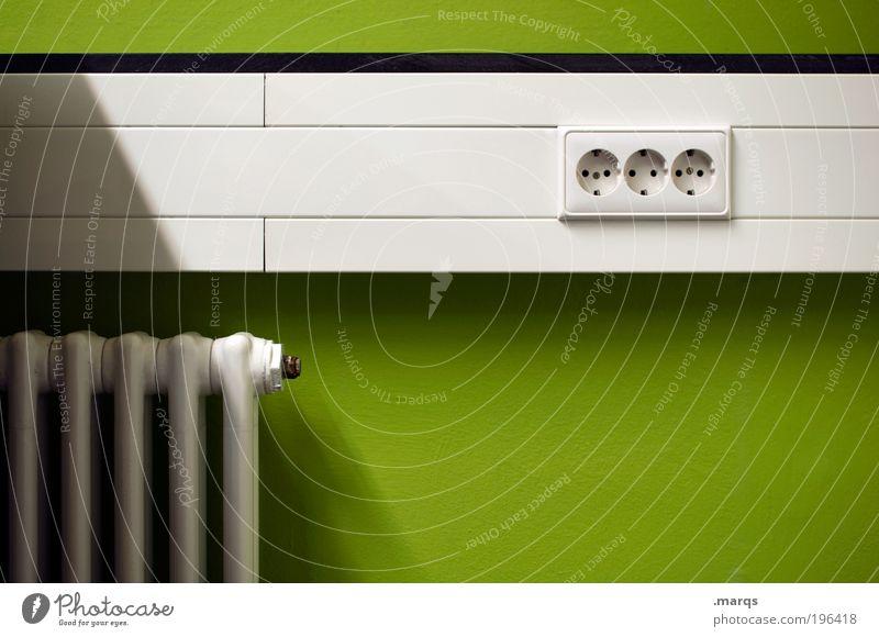 The Heat (the Energy) weiß grün Farbe Arbeit & Erwerbstätigkeit Stil Wohnung Design Umwelt Energie Lifestyle Energiewirtschaft neu Zukunft Technik & Technologie