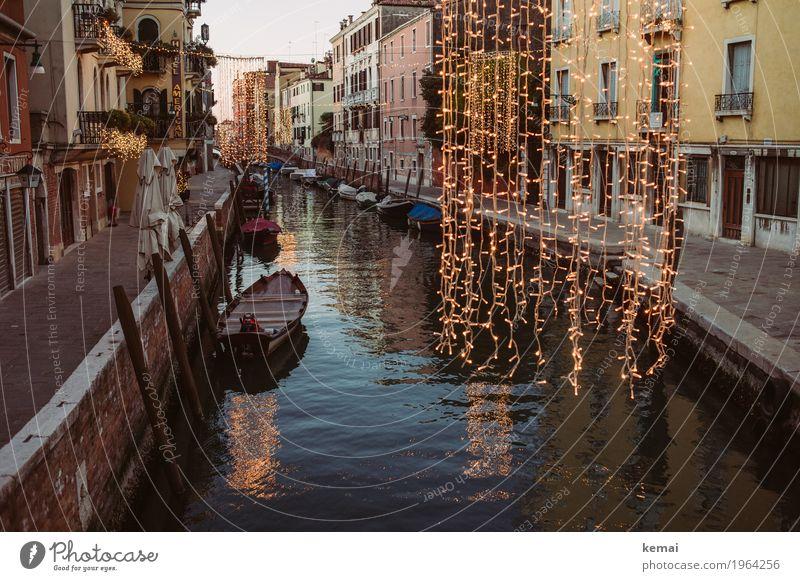 Weihnachtlich harmonisch Erholung ruhig Ferien & Urlaub & Reisen Tourismus Ausflug Sightseeing Städtereise Feste & Feiern Weihnachten & Advent Wasser Venedig