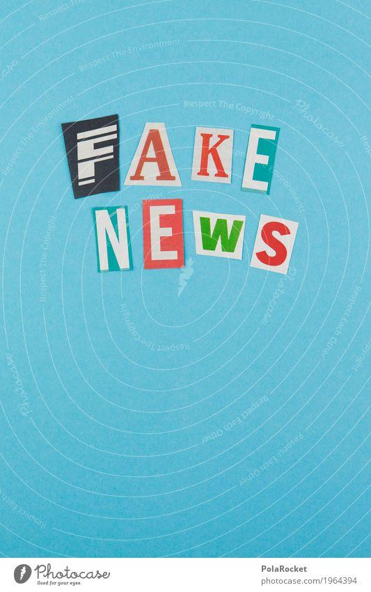 #AS# TRUMP'S FAKE NEWS Kunst Kunstwerk Kitsch Fälschung news Information Typographie Schriftzeichen Grafik u. Illustration Kreativität Politik & Staat Wahlen