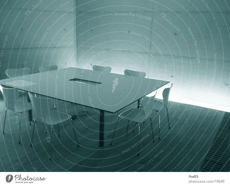 architektenhaus1 Tisch Besprechungsraum Architektur Jakobsen Stuhl