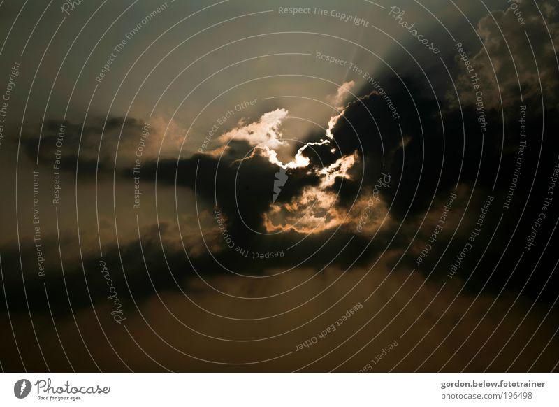 sunblocker Natur Himmel Sonne Wolken gelb Gefühle Luft Angst gold Unwetter Umweltverschmutzung schlechtes Wetter Gewitterwolken