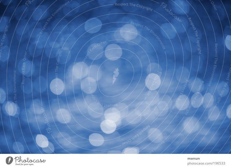 Blaulicht blau Farbe Wasser Erholung Stil Feste & Feiern Design träumen glänzend frisch Fröhlichkeit Kreativität Lebensfreude Romantik Wohlgefühl trendy