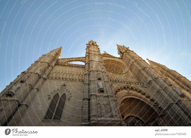 The Dome 47 alt blau Sonne Ferien & Urlaub & Reisen Sommer Haus gelb braun Kraft gold Wohnung Tourismus ästhetisch authentisch stehen Kirche