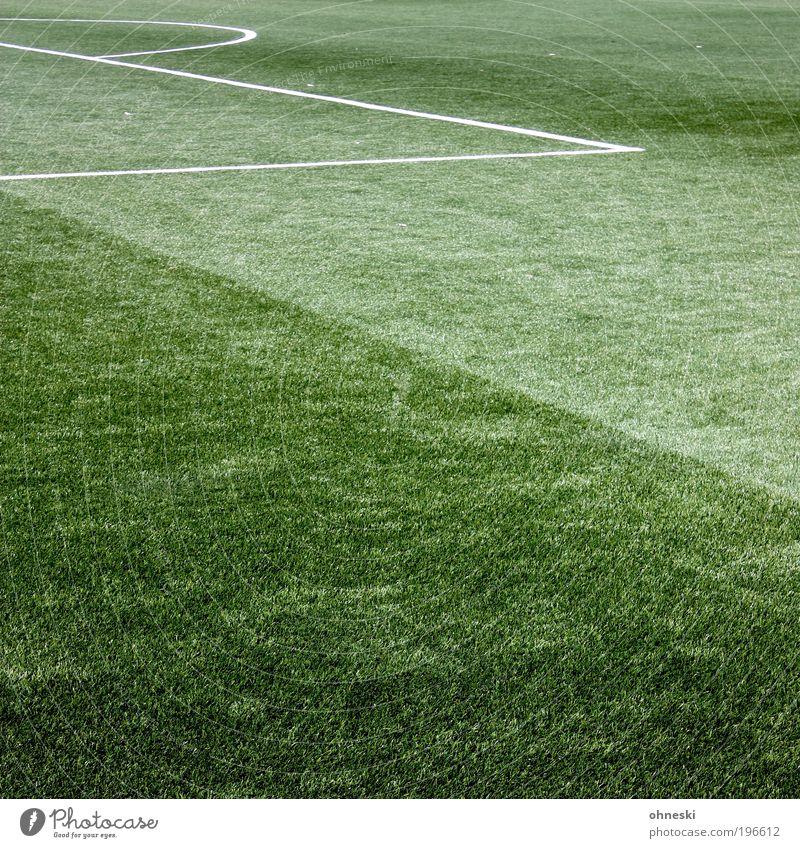 16er Sport Sportler Torwart Erfolg Fußball Sportstätten Fußballplatz grün Kunstrasen Strafraum Elfmeter Weltmeisterschaft Farbfoto Außenaufnahme abstrakt Muster