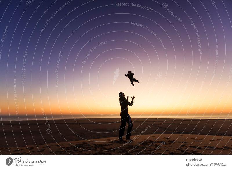 Erste Flugstunde Mensch Kind Natur Ferien & Urlaub & Reisen Jugendliche Junger Mann Landschaft Meer Freude Ferne 18-30 Jahre Erwachsene Junge Familie & Verwandtschaft Spielen Glück