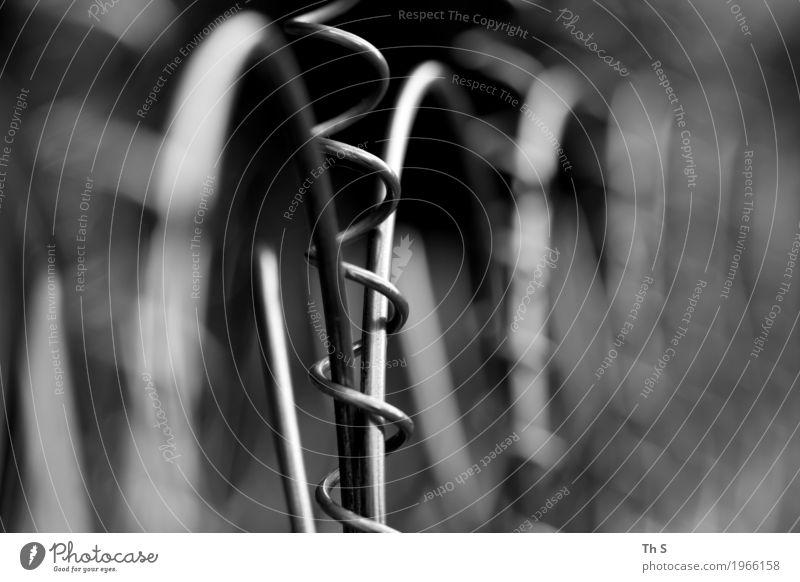Technik Technik & Technologie Wissenschaften Metall Arbeit & Erwerbstätigkeit Bewegung ästhetisch authentisch einfach elegant grau schwarz Kraft Vertrauen