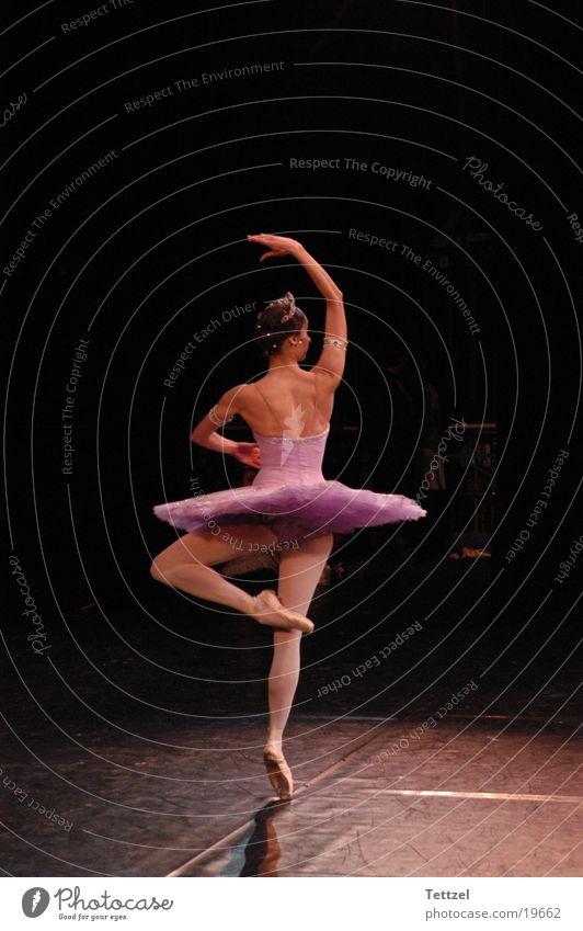 Ballerina Frau Tanzen Theaterschauspiel
