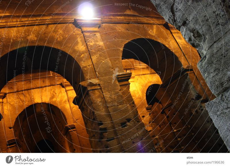 ... vedo la maestà der Colosseo ... [2] alt Ferien & Urlaub & Reisen Sommer Ferne Freiheit Architektur Gebäude Kunst Fassade Ausflug Tourismus authentisch Bauwerk stark Ruine