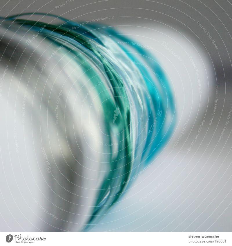 Bild schön verpackt! grün blau Freude grau Papier rund nah weich Dekoration & Verzierung Schnur türkis Erwartung Überraschung dezent Pastellton