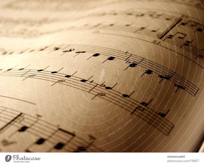 notenblatt Notenblatt Freizeit & Hobby Musik Musiknoten sheet partitur Makroaufnahme