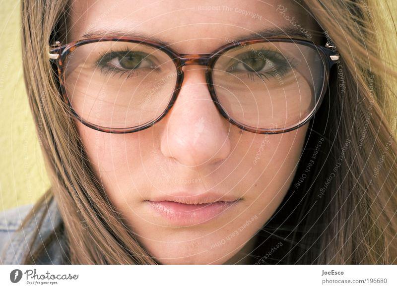 #196680 Lifestyle elegant Stil schön Leben Erholung Mensch feminin Junge Frau Jugendliche Erwachsene Kopf Gesicht Auge Nase Mund Brille Haare & Frisuren brünett